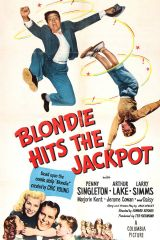 Blondie Hits the Jackpot 1949 DVD - Penny Singleton / Arthur Lake